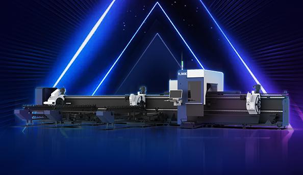 TL300E丨宏山激光三卡盘重型激光切管机来啦!