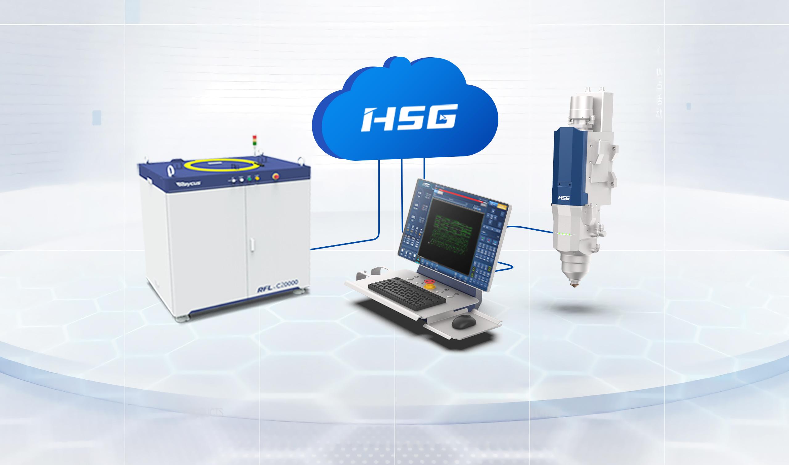 GH Pro丨HSG重新定义超高功率激光切割机标准